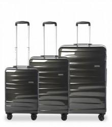 Epic Kuffert 3-set Vision 55-66-76cm Black Pearl