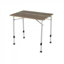 Feather campingbord med bordplade i trælook 60 x 80 cm