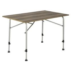 Feather campingbord med bordplade i trælook 70 x 110 cm