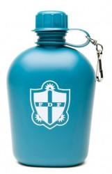 Feltflaske plast Blå FDF