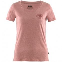 Fjällräven 1960 Logo T-Shirt Womens, Raspberry Red / Melange
