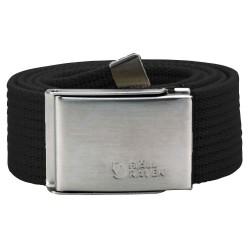 Fjällräven Canvas Belt, ONE SIZE, BLACK/550