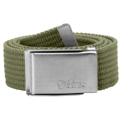 Fjällräven Canvas Belt, ONE SIZE, GREEN/620