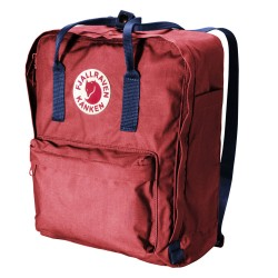Fjällräven Kånken, One Size, OX RED/ROYAL BLUE/326/540