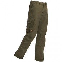 Fjällräven Karl Trousers Hydratic Mens, Dark Olive
