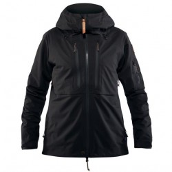 Fjällräven Keb Eco-Shell Jacket Womens, Black