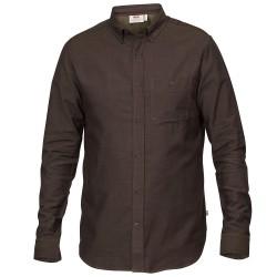 Fjällräven Mens Övik Foxford Shirt L/S, S, TARMAC/246
