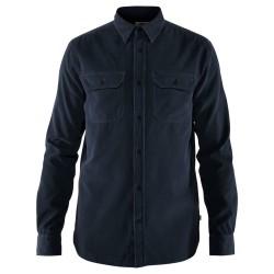Fjällräven Mens Övik L/S Cord Shirt, XL, DARK NAVY/555