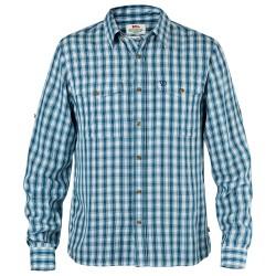 Fjällräven Mens Abisko Cool Shirt L/S, M, UNCLE BLUE/520