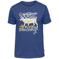 Fjällräven Mens Classic SWE T-shirt, S, DEEP BLUE/527