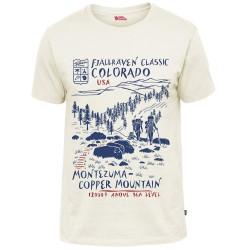 Fjällräven Mens Classic US T-shirt, L, EGGSHELL/111