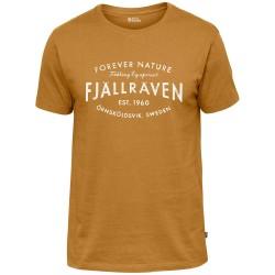 Fjällräven Mens Est. 1960 T-shirt, L, ACORN/166