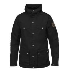 Fjällräven Mens Greenland Jacket, L, BLACK/550