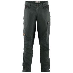 Fjällräven Mens Kaipak Trousers, 54, DARK GREY-BLACK/030-550