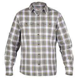 Fjällräven Mens Singi Flannel Shirt L/S, S, SAVANNA/235