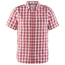Fjällräven Mens Singi Shirt S/S, M, LAVA/335