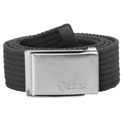 Fjällräven Merano Canvas Belt, ONE SIZE, DARK GREY/030