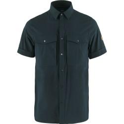 Fjällräven Ms Abisko Trekking Shirt S/S, M, DARK NAVY/555