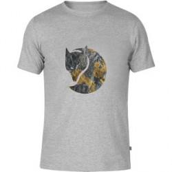 Fjällräven Rock Logo T-shirt Grey