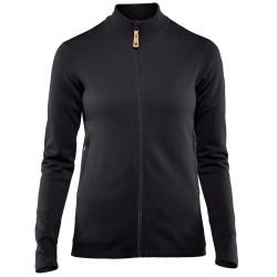 Fjällräven Womens Keb Wool Sweater, XL, DARK GARNET/356