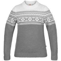 Fjällräven Ws Övik Scandinavian Sweater, S, GREY/020