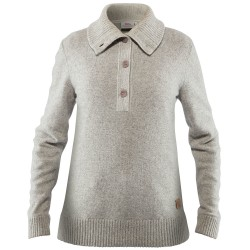 Fjällräven Ws Greenland Re-wool Sweater, L, GREY/020