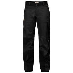 Fjällräven Ws Keb Eco-Shell Trousers, L, BLACK/550