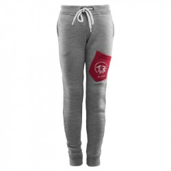 Fleecewool Joggers Junior Grey Melange - Pepper