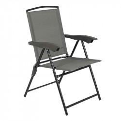 Foldbar campingstol med 4 positioner