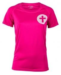 Folkekirken Pace Lady Løbe T-shirt Pink