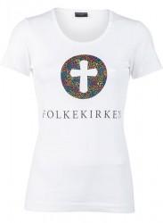Folkekirken Vision Lady T-shirt Hvid