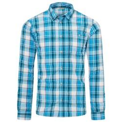 Frilufts Mens Awarua L/S Shirt, S, FJORD BLUE