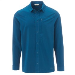 Frilufts Mens Gocta L/S Shirt, M, BLUE OPAL