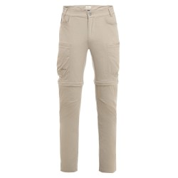 Frilufts Mens Ocoa Zipoff Pants, 48, ALUMINIUM