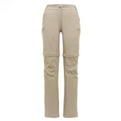 Frilufts Womens Ocoa Zipoff Pants, 40, ALUMINIUM