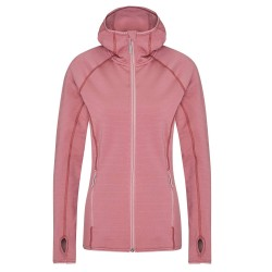 Frilufts Ws Ouse Hooded Fleece Jacket, L, NOSTALGIA ROSE