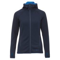 Frilufts Ws Ouse Hooded Fleece Jacket, S, DARK SAPPHIRE