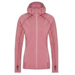 Frilufts Ws Ouse Hooded Fleece Jacket, S, NOSTALGIA ROSE