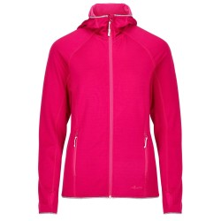 Frilufts Ws Ouse Hooded Fleece Jacket, S, RED BUD