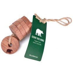 Friluftsland Cedar Tree Rings