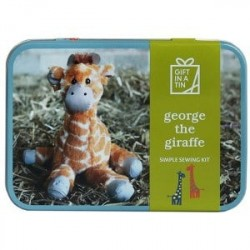 Gift In A Tin Giraffe