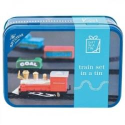 Gift In A Tin Train