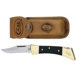 Hammerhead Lockback W/leather Sheath