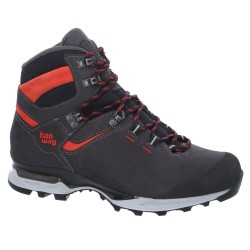 Hanwag Mens Tatra Light LL, UK 10, ASPHALT/RED