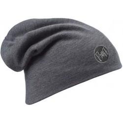 Heavyweight Merino Wool Loose Hat - Solid Grey