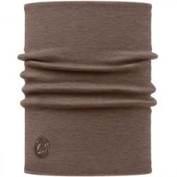 Heavyweight Merino Wool Neckwarmer - Solid Walnut Brown
