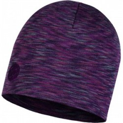 Heavyweight Merino Wool Regular Hat - Shale Grey Multi Stripes