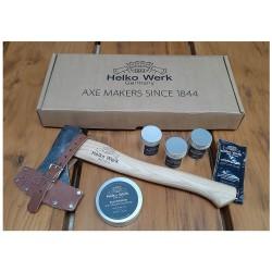 Helko Werk Traditional Hatchet Gift Set, HICKORY