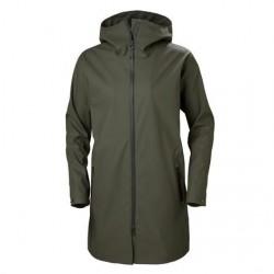 Helly Hansen Womens Copenhagen Raincoat, Beluga
