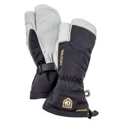 Hestra Army Leather GTX 3-finger, 10, BLACK